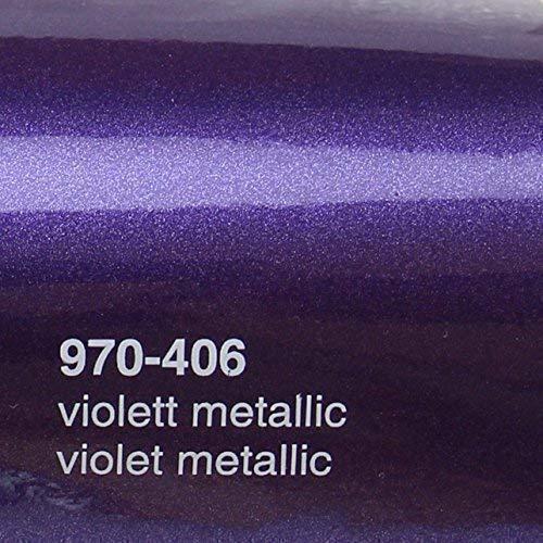 Oracal 970RA 406 Violet Metallic Glanz gegossene Profi Autofolie 152cm breit BLASENFREI mit Luftkanäle