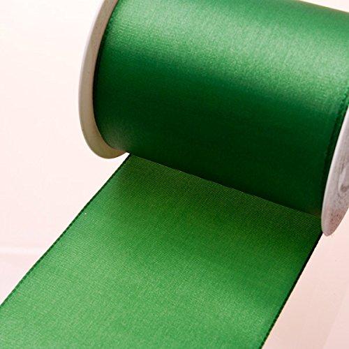 Larga Fascia In Taffetà Verde Scuro-110mm di larghezza su 25m Rotolo-824665della R 110(1,93& # x20AC;/M)