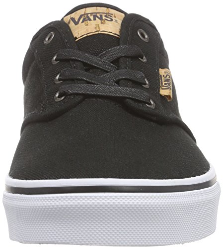 Vans Y Atwood Deluxe, Baskets Basses Mixte Enfant Gris ((10oz Canvas) Blac
