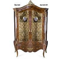 Comparador de precios Casa-Padrino Baroque Display Cabinet 129 x 46 x H. 197 cm - Living Room Furniture - precios baratos