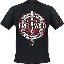 """Frei.Wild - """"Frei von Verrat"""" T-Shirt, Farbe: Schwarz"""
