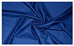 V Walkers Mens Poly Blend Self Design Unstitched Trouser Fabric (1.30 Mtr_Blue_VST164)