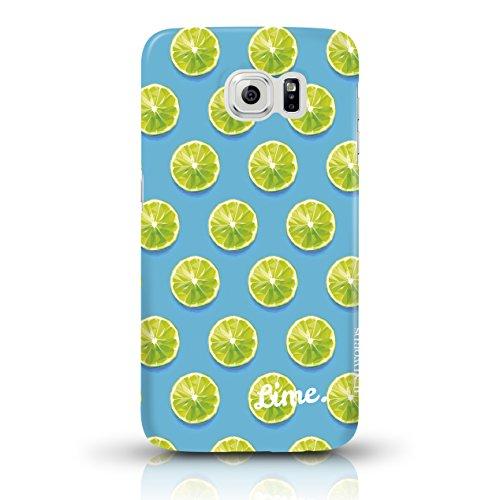 """JUNIWORDS Handyhüllen Slim Case für das iPhone 6/6s - """"Ananas Design 3 Strand"""" - Handyhülle, Handycase, Handyschale, Schutzhülle für Ihr Smartphone Limette Design 3"""