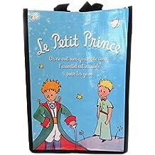 Bolsa de compras Le Petit Princecielo azul - 35x25x19 cm.