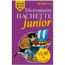 Dictionnaire Hachette junior : CE-CM 8-11 ans