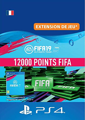 FIFA 19 Ultimate Team - 12000 FIFA Points | Code Jeu PS4 - Compte français