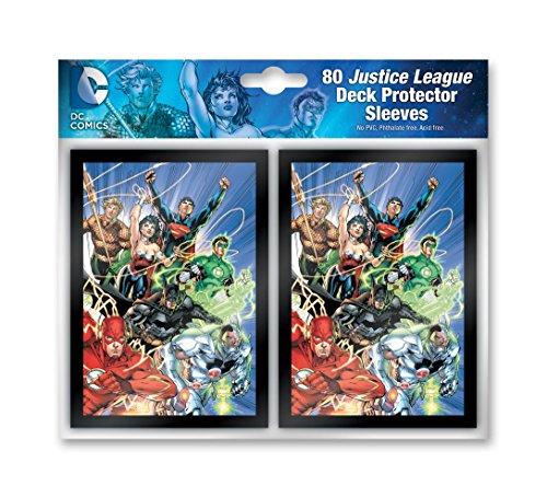 DC Comics Card Sleeves - The Justice League (80) (Sammelkarten Dc)