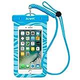 Wasserdichte Hülle, Auwet Wasserdichte tasche beutel handyhülle für iPhone 7/6s/plus/5/5s,...