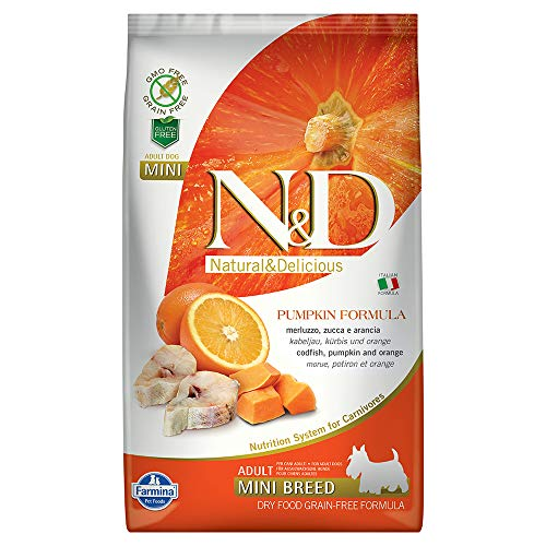 Farmina - Farmina N&D Calabaza y Pescado Adult Mini Grain Free -...