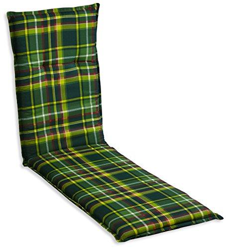 Beo B109 Bari RE - Cojín para sillas de Exterior, Color Verde