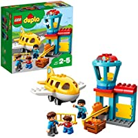 LEGO UK 10871 DUPLO Airport Best Toy for 2 to 5 Year Olds