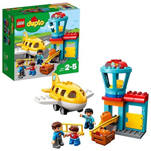 feuerwehrauto lego duplo LEGO Duplo 10871 - Flughafen, Ideales Spielzeug für Kinder im Alter von 2 bis 5 Jahren