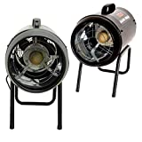 New Propane LPG Gas Space Heater Electric Fan Assisted Powerful Workshop Warmer 3