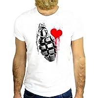 T SHIRT JODE Z1756 BOMB HEART WAR LOVE INK FUNNY COOL FASHION NICE GGG24