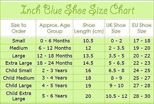 Inch Blue Girls Boys Luxury Leather Soft Sole Pram Shoes - Oriental Bird Navy Blau