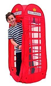 High Resolution Design Tienda de campaña con teléfono británico