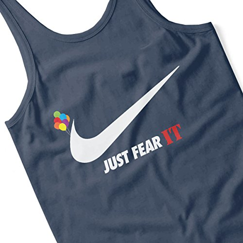 Just Fear IT Pennywise Nike Men's Vest Navy Blue