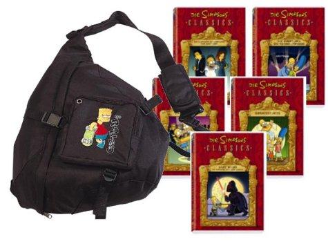 Simpsons Rucksack (5 DVDs, exklusiv bei Amazon.de) (Rucksäcke Simpsons)