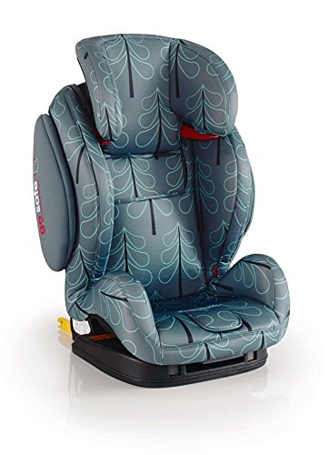 Cosatto Hug Isofix Car Seat Group 123, 9-36 kg, Fjord Cosatto Suitable from 9 kg-36 kg (9 months - 12 years approximatelyimately), Hug ISOFIX is an investment; it fits forward-facing in most cars with standard ISOFIX connectors and top tether anchor point The exclusive Five Point Plus Anti-Escape system deters determined wrigglers and diminishes driver distraction; it features extra-cushioned side impact protection for in-car security Impact protection for in-car security Hug ISOFIX has fabrics, a height-adjustable headrest and reclining padded seat for on-board comfort, plus easy-clean pop-off covers and liner to help you out 5