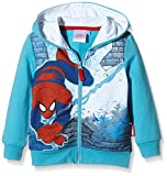 Marvel Boy's Spiderman City Long Sleeve Sweatshirt