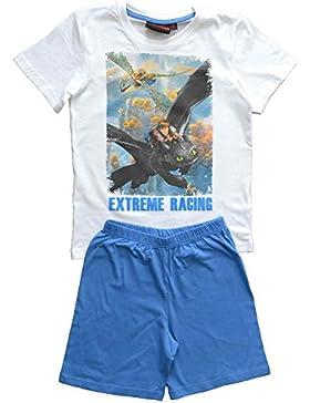 DreamWorks Jungen Schlafanzug bl