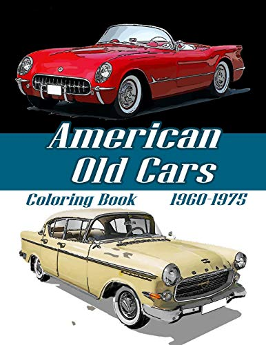 American Old Cars Coloring: 1960 - 1975 Classic Car (1975 Chevy Truck)