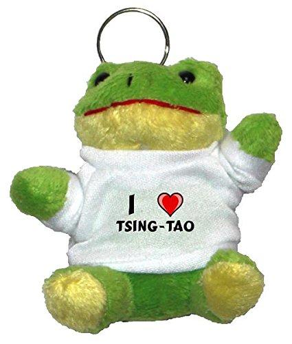 plusch-frosch-schlusselhalter-mit-einem-t-shirt-mit-aufschrift-mit-ich-liebe-tsing-tao-vorname-zunam