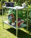 LC Tisch Pflanztisch 100x100x50cm 50kg verzinkt Gartentisch -