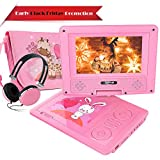 """Best Portable Dvd Players - FUNAVO 9.5"""" Portable DVD Player with Headphone, Carring Review"""