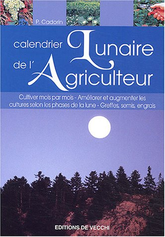 Calendrier lunaire de l'agriculture