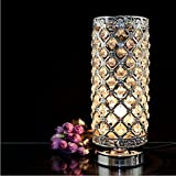 MC-29021 Crystal Silver Table Lamp