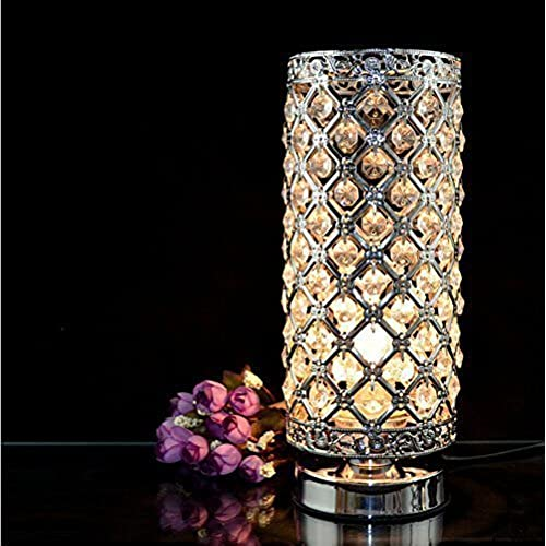 MC 29021 Crystal Silver Table Lamp