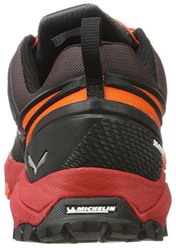 Salewa - Ms Multi Track Gore-tex, Zapatos De Escalada Multicolor Para Hombre Multicolor (negro / Bergot)