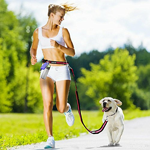 aodoor-nylon-dog-leash-lead-adjustable-hands-free-leashes-great-for-walkingbunningbiking-and-jogging