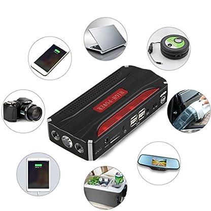 51T17NcI%2BEL. SS416  - 68800mAh portátil Mini Car Jump Starter 12V 4USB Power Bank Batería para Inicio Puerta de emergencia