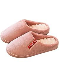Hommes Mhgao Automne / Chaud Maison Plancher Intérieur Pantoufles En Coton Pantoufles Hiver, 1 Moyen