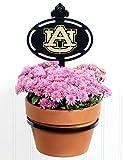 Terri Metall funktioniert Auburn University Collegiate Logo Wand montiert Blumentopfhalter