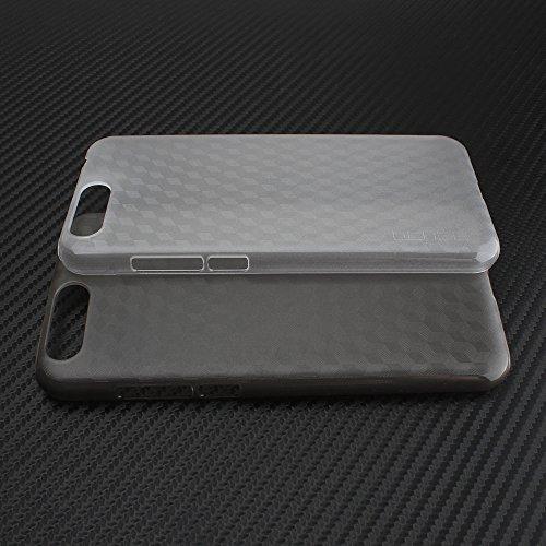 Tasche für Ulefone Gemini Pro Hülle, Ycloud Handy Backcover Kunststoff-Hard Shell Case Handyhülle mit stoßfeste Schutzhülle Smartphone Weiß Transparent