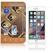 """YOUZZON Protector Pantalla Cristal Templado Alta Calidad Para iPhone 6 5.5"""" y I6 Plus +Trapo+Pasta limpiadora"""