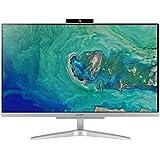 """Acer Aspire C24-865 All in one con Processore Intel Core i5 i5-8250U, RAM da 8 GB DDR4, SSD 256 GB, Scheda Grafica Intel HD, Display 23.8"""" FHD LED, Wireless, Tastiera e Mouse USB, Silver"""