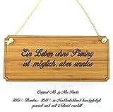 Mr. & Mrs. Panda Türschild Stadt Piering Classic Schild - Gravur,Graviert Türschild,Tür Schild,Schild, Fan, Fanartikel, Souvenir, Andenken, Fanclub, Stadt, Mitbringsel