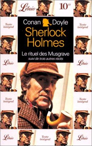 Sherlock Holmes : Quatre aventures de Sherlock Holmes par Arthur Conan Doyle