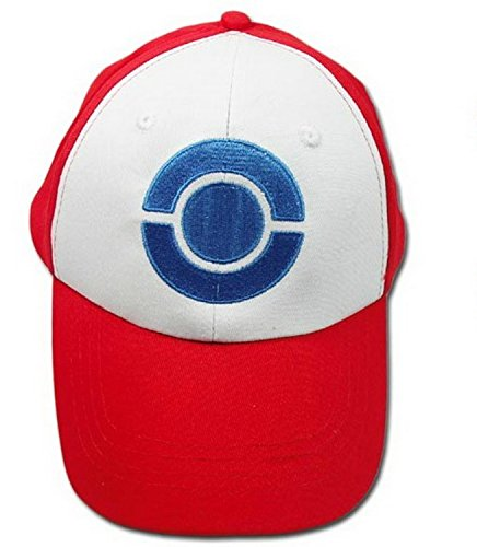 Kostüme Pokemon Halloween Ash (Pokemon Ash Hut Kappe Ketchum Halloween Cosplay Costume)