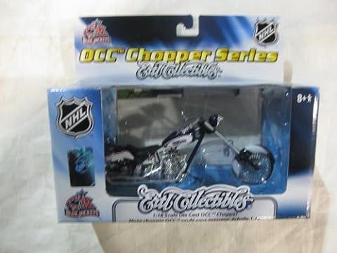 OCC Chopper Series Ertl Collectibles 1:18 Scale Die-Cast OCC Chopper NHL Columbia Blue Jackets by diecast 164 scale