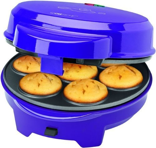 3-in-1 muffin-Maker 700 Watt (Donut-Maker, 7 per muffin, 7 ciambelle, 12 cake pops, Popcake, back emotiontextiles si possono sostituire)