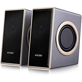 speakers pc. home computer speakers, mixcder msh169 usb 2.0 powered surround subwoofer multimedia speaker with enhanced sound speakers pc