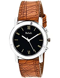 Relish RE-L006T Classic Analog Black Dial Watch for Girls, Women