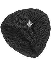 Gwinner Strickmütze warme und dicke Wintermütze ideal für kalte Tage G2, schwarz