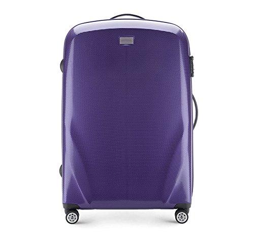 WITTCHEN Großes Gepäck | Farbe: Lila | Material: Polycarbonat | Größe: 79 x 53 x 27 cm | Gewicht: 4.8 KG | Kapazität: 85 L | Sammlung: PC Ultra Light | 56-3P-573-24