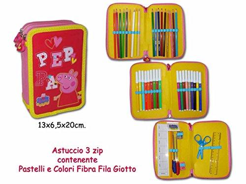 cartabilia MAPP08 caso 3 bisagras de peppa pig rosa